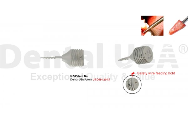 POWER PERIOTOME SCREW ROOT EXTRACTION MOLARS NON FLEX