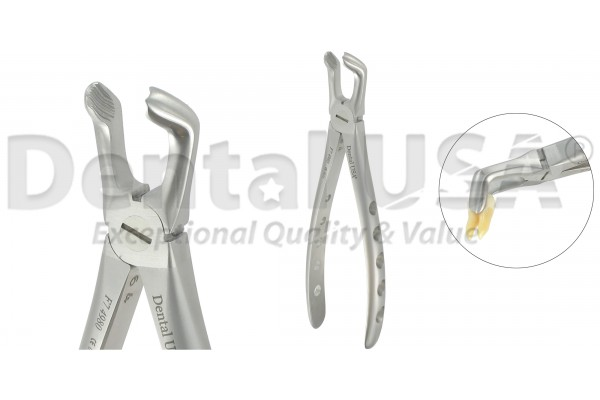 EXTRACTION FORCEPS F7 LOWER MOLARS