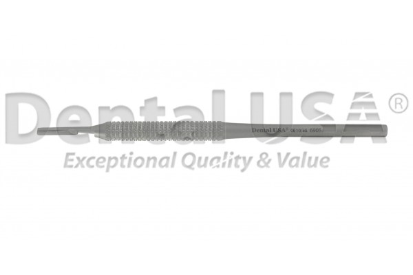 SCALPEL HANDLE 5, ROUND HANDLE, STR