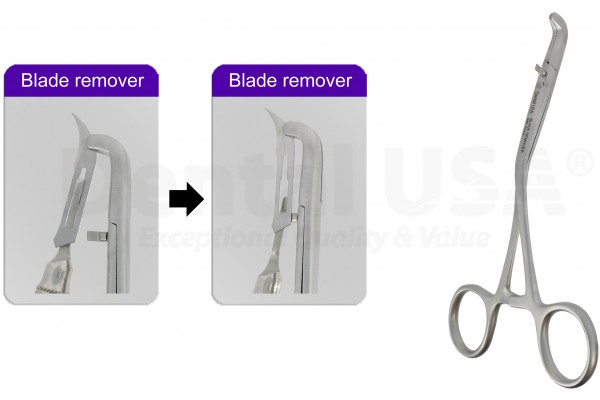 EASY SCALPEL BLADE  REMOVAL  FORCEP