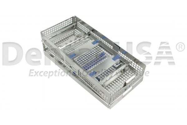 CASSETTES DOUBLE HINGE 12 HOLD DOUBLE RACK 90X203X31mm