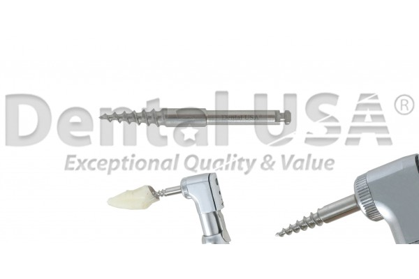 ROOT EXTRACTION HANDPIECE ANCHOR 30mm SCREW ROOT EXTRACTION NON FLEX