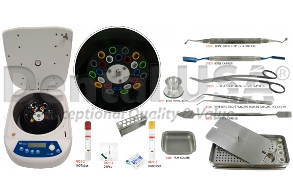 DENTAL USA POWER PRF MASTER (second generation platelet) CENTRIFUGE Holds up to 24 tubes