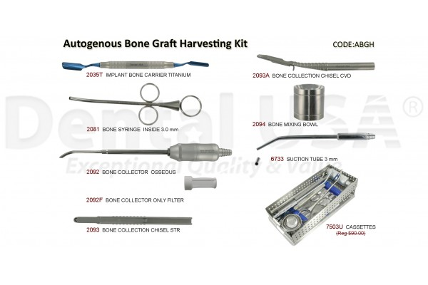 AUTOGENOUS/BONE GRAFT HARVESTING KIT
