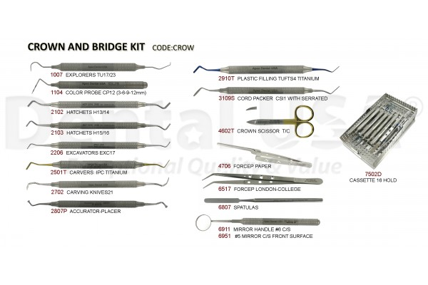 CROWN AND BRIDGE KIT