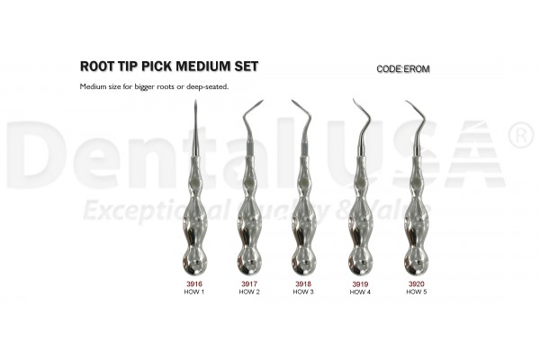 ROOT TIP PICK MEDIUM SET (5EA)