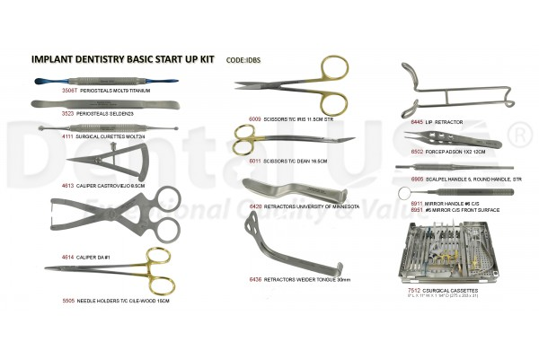 IMPLANT DENTISTRY BASIC START UP KIT