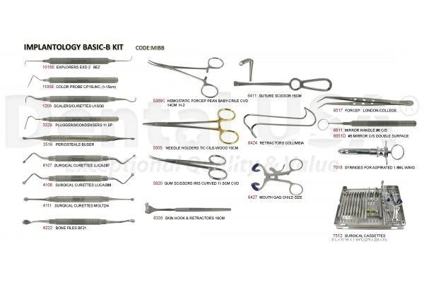 IMPLANTOLOGY BASIC-B KIT