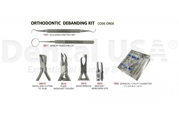 ORTHODONTIC DEBANDING KIT