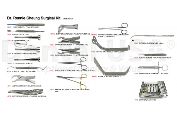 DR. RENNIE CHEUNG SURGICAL KIT