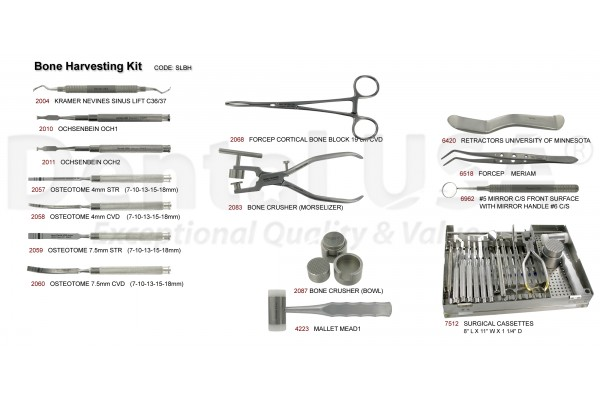 DENTAL USA BONE HARVESTING KIT
