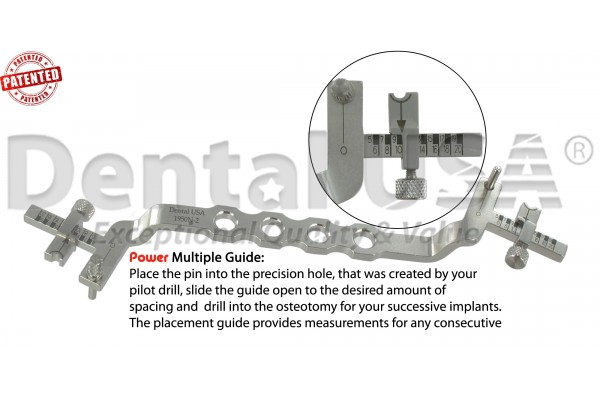 POWER GUIDE MULTIPLE IMPLANT GUIDE SECOND AND NEXT IMPLANT