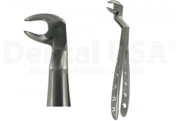 EXTRACTION FORCEPS SPECIAL MOLAR 22 L-R / U-L   LOWER - RIGHT / UPPER - LEFT