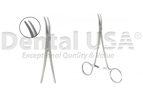 HEMOSTATIC FORCEPS MICRO-HALSTED 12.5CM CVD