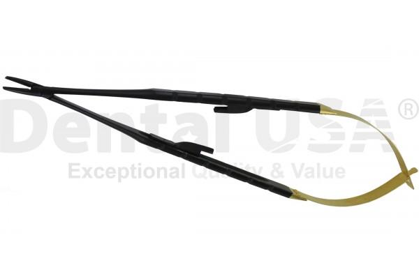 NEEDLE HOLDERS T/C CASTROVIEJO PREMIUM BLACK EDITION   STRAIGHT 18cm T/C