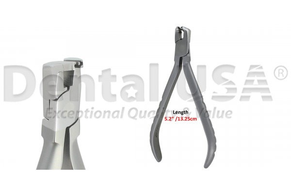 """ORTHODONTIC Flush Cut Distal End Cutter w/Safety Hold Max wire size .020"""", .022"""" x .028"""""""