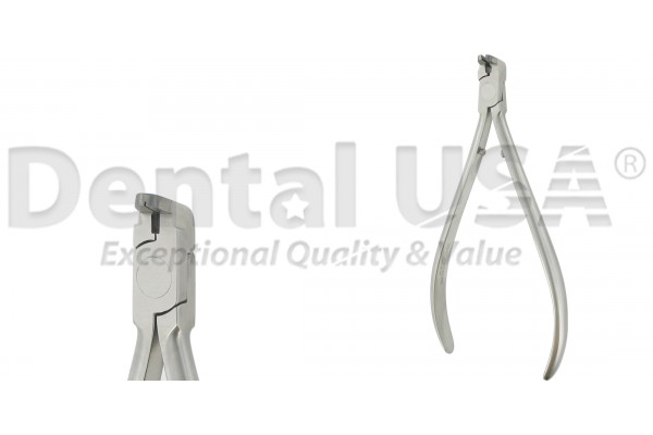 """ORTHODONTIC DISTAL END CUTTER, T/C LONG HANDLE  w/Safety Hold  Max wire size .020"""",.018"""" x .025"""""""