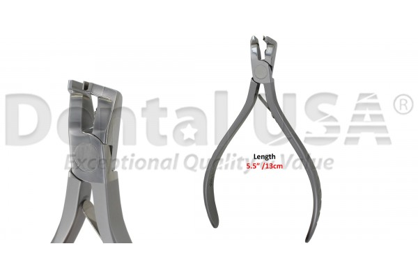 """ORTHODONTIC FLUSH CUT AND HOLD DISTAL END CUTTER T/C UP TO A MAXIMUM OF 0.21"""" X 0.025"""""""
