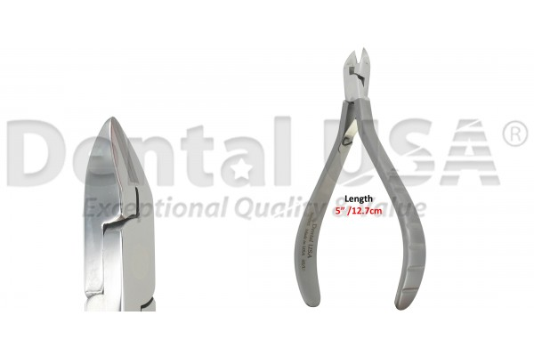 ORTHODONTIC CUTTER T/C  SLIM, 15º Angled Ligature Cutter Max. soft wire .020""