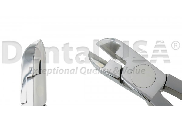 "ORTHODONTIC CUTTER STR  T/C,  Ligature Cutter Max. soft wire .020"" NEW"