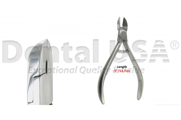 ORTHODONTIC CUTTER STR  T/C,  Ligature Cutter Max. soft wire .020""