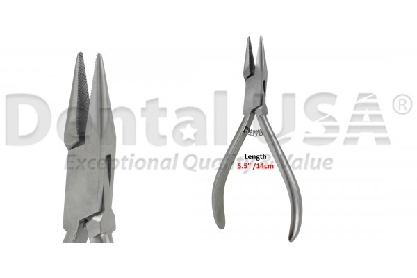 ORTHODONTIC PLIER MODELL MARBURG SERRATED14CM