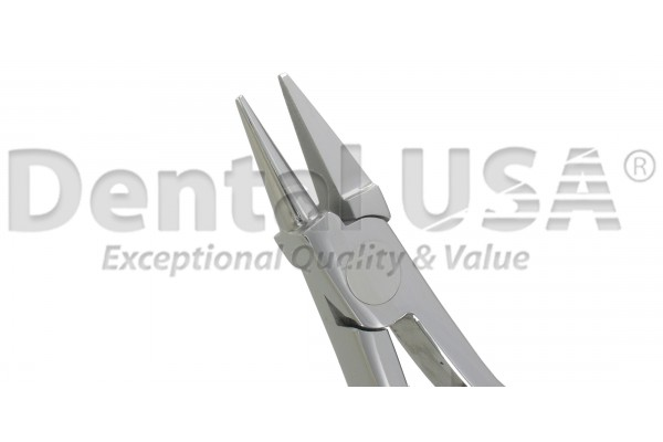 ORTHODONTIC PLIER BIRD BEAK, NO GROOVE