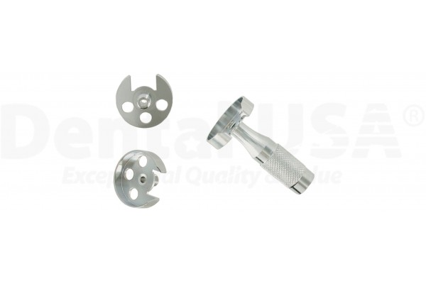 ORTHODONTIC DISC GUARD SMALL DICS (19mm) GUARD WITH ADAPTER