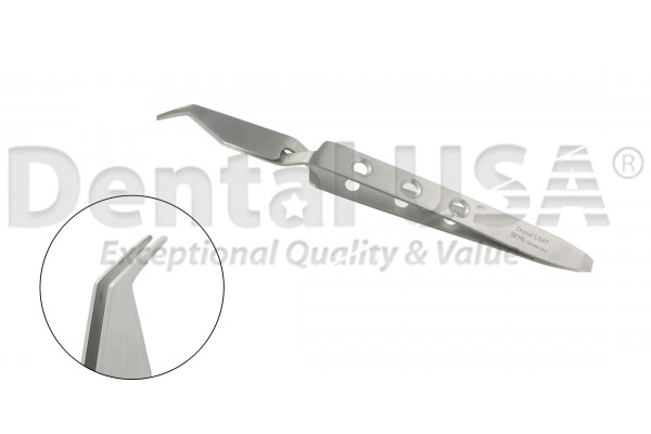 ORTHODONTIC TWEEZERS BRACKET PLACING DIRECT BOND