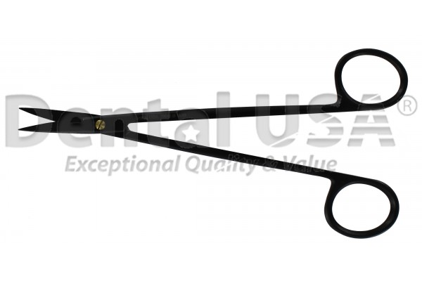 GUM SCISSORS KELLY SUPER CUT  STRAIGHT 16cm  PREMIUM BLACK EDITION