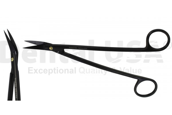 SCISSOR  SUPER CUT SLIM SUTURE  PREMIUM BLACK EDITION  DEAN 16.5cm