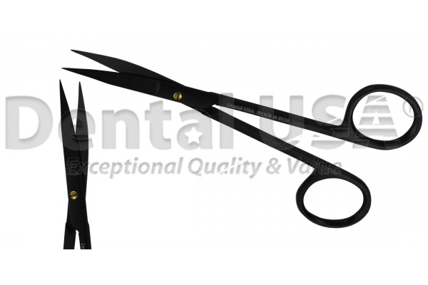 SCISSORS  SUPER CUT SLIM SUTURE  PREMIUM BLACK EDITION  GOLDMAN-FOX 12.5cm  CVD