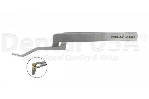 IMPLANT TWEEZER ABUTMENT HOLDER  HOLE SIZE 1-2.5 mm / 1.6-3.2mm