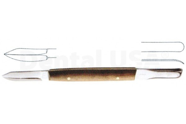 WAX KNIVES LESSMANN 12.5CM