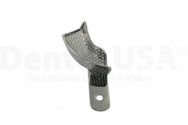 IMPRESSION TRAYS PERFORATED SET UPPER RIGHT/LOWER LEFT 60MM