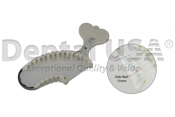 FISH BONE TRAY- QUADRANT - 35 EA/PKG  SIDEWALL THICKNESS 15mm