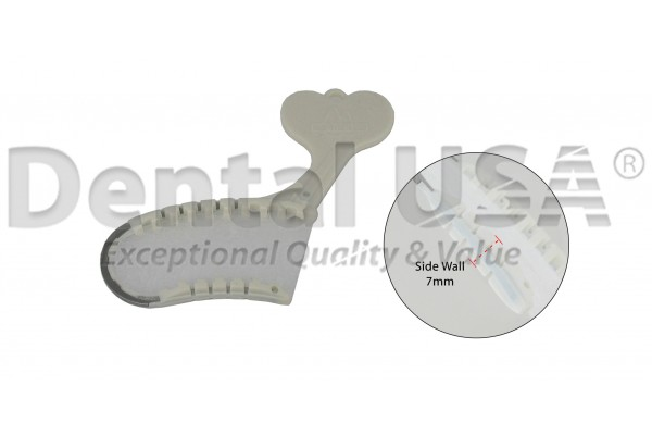 FISH BONE TRAY- HALF-SIDE - 50 EA/PKG SIDEWALL THICKNESS 7mm