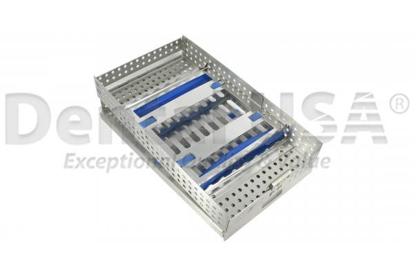 CASSETTES DOUBLE HINGE 16 HOLD DOUBLE RACK- 203 x 114 x 31mm