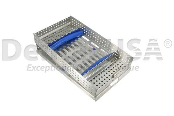 CASSETTES DOUBLE HINGE 8 HOLD SINGLE TALL RACK, 203 x 114 x 31mm