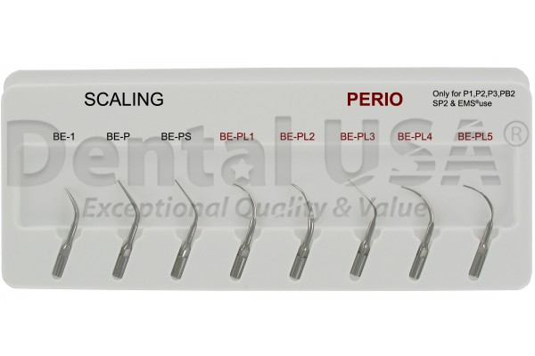 PIEZO SCALER TIPS FOR EMS SET OF 8