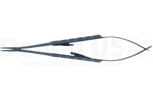 TITANIUM, MICRO SURGICAL CASTOVIEJO STR (6.3in=16cm)   NON SERRATED