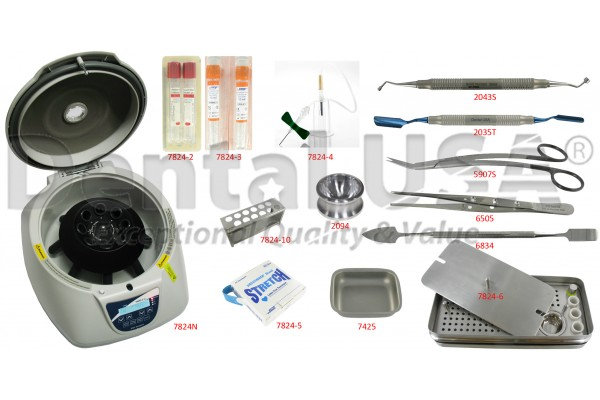 NEW EASY COMPACT DESIGN PRF / RGF CENTRIFUGE WITH ACCESSORY KIT