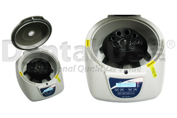 NEW EASY COMPACT DESIGN CENTRIFUGE HOLDS UP TO 8 TUBES