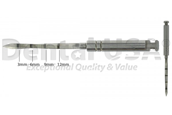 SURGICAL DRILL POINT PILOT  1.1 x 17mm ( 3 - 6 - 9 -12mm )