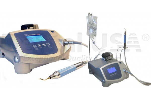 PIEZO POWER SURGIMASTER-II WITH 2 PCS LED HANDPIECE FREE,SPECIAL Piezo Tips 12pcs, 110V / 220V
