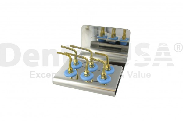 IMPLANT  PREPARATION BONE SURGERY  TIP SET OF 6 WITH CASSETTE CODE:8130S / MECTRON COMPATIBLE