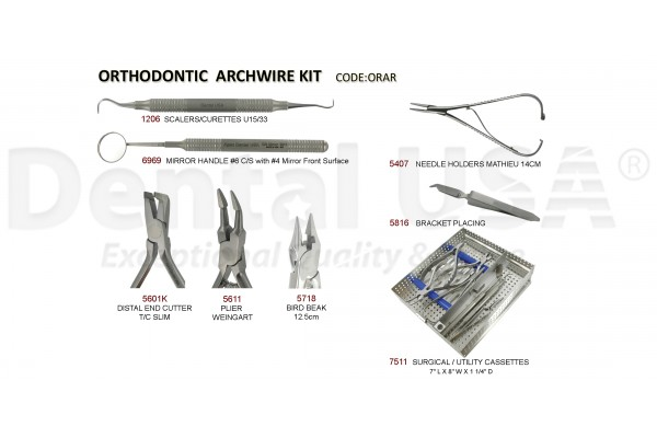 ORTHODONTIC ARCHWIRE  KIT