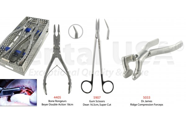 RIDGE COMPRESSION FORCEPS KIT