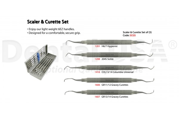 SCALER & CURETTE SET