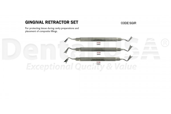 GINGIVAL RETRACTOR  SET